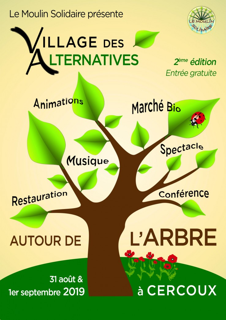 Affiche du Village des Alternatives